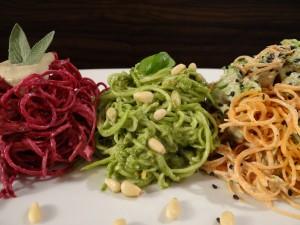 Raw Spaghetti Tricolore